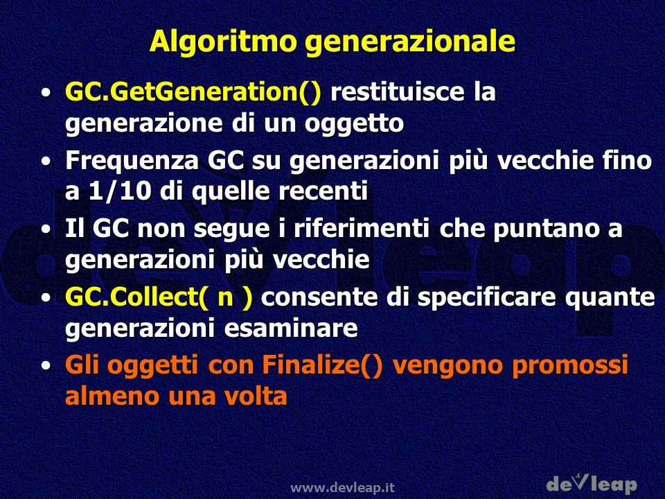 Algoritmo generazionale