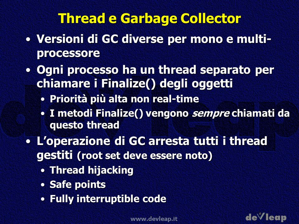 Thread e Garbage Collector