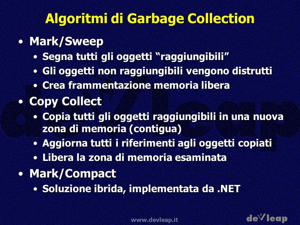 Algoritmi di Garbage Collection