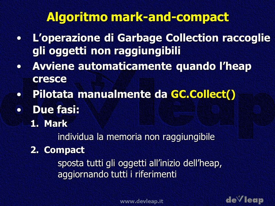 Algoritmo mark-and-compact