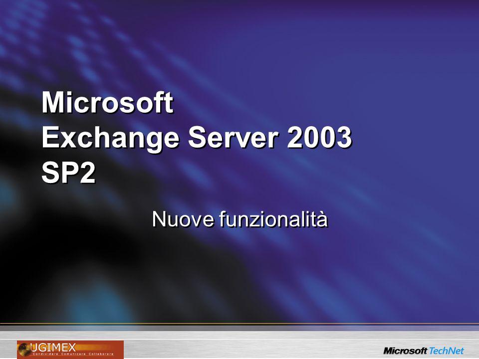 Microsoft Exchange Server 2003 SP2