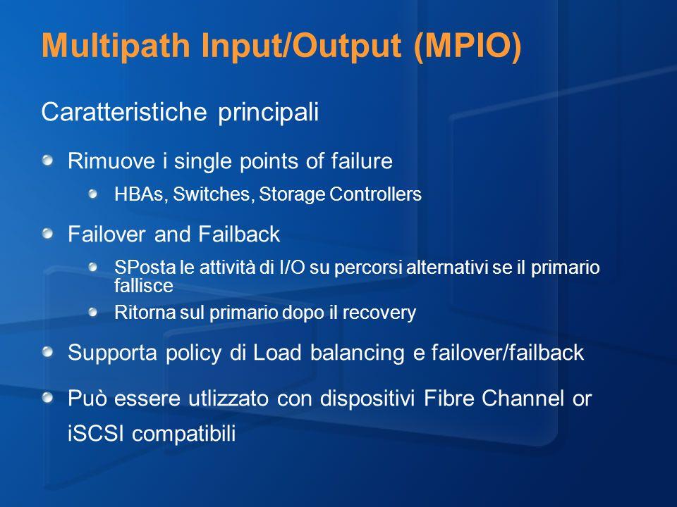 Multipath Input/Output (MPIO)