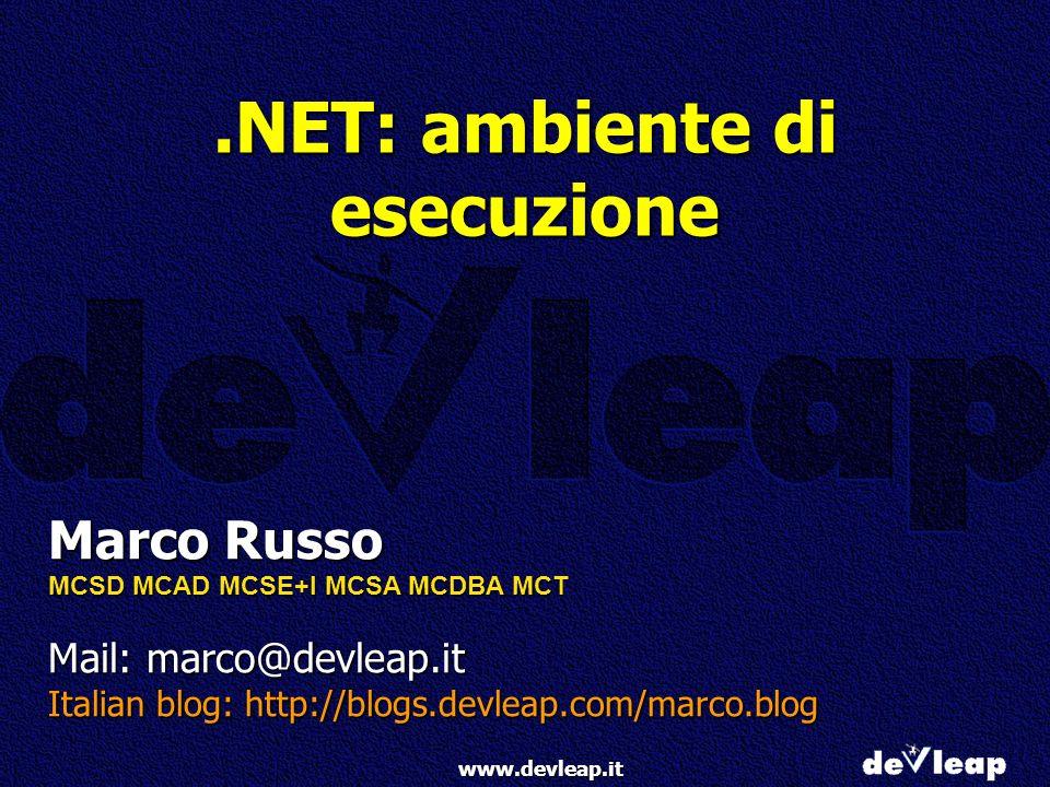 .NET: ambiente di esecuzione