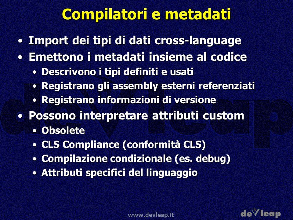 Compilatori e metadati