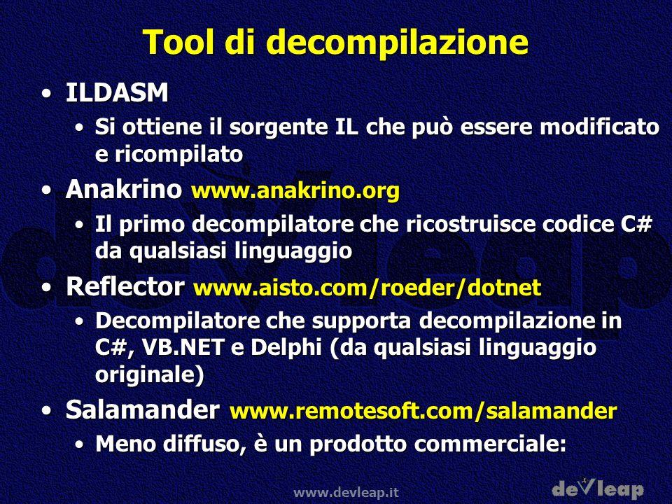Tool di decompilazione