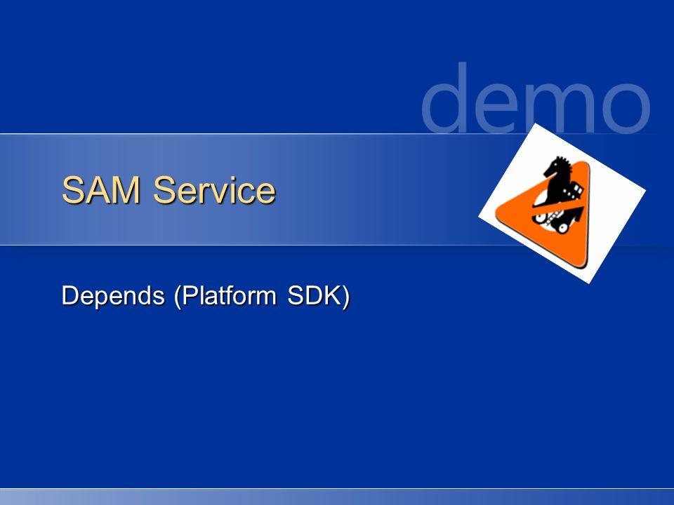 Depends (Platform SDK)