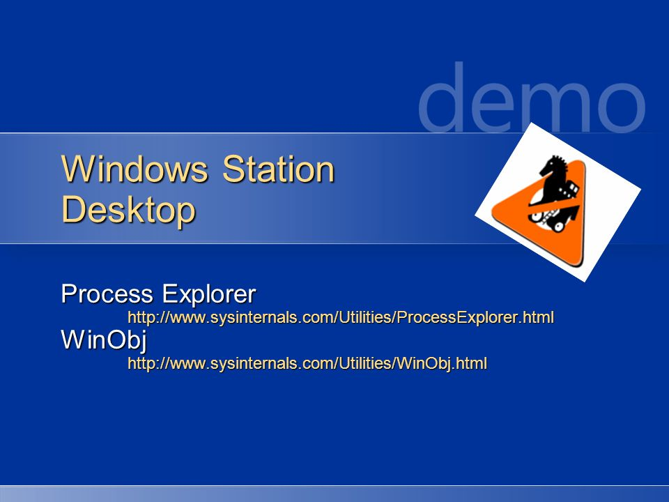 Windows Station Desktop