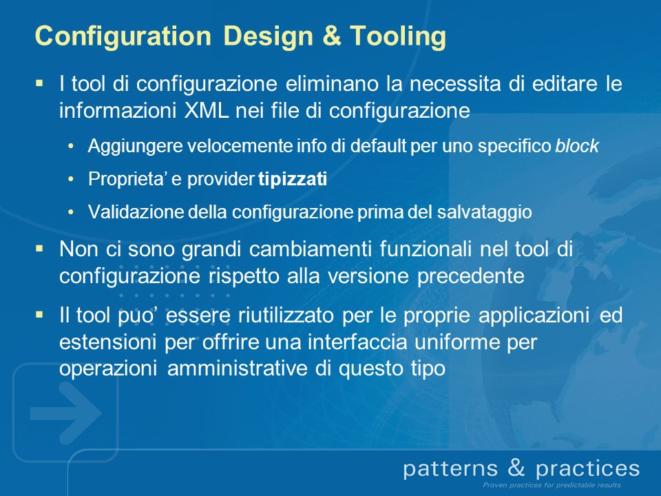 Configuration Design & Tooling