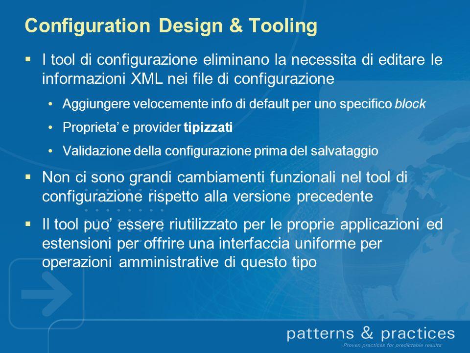Configuration Design & Tooling