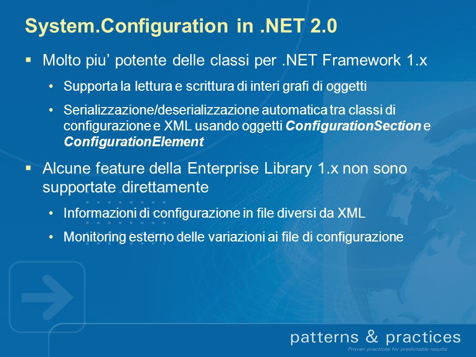 System.Configuration in .NET 2.0