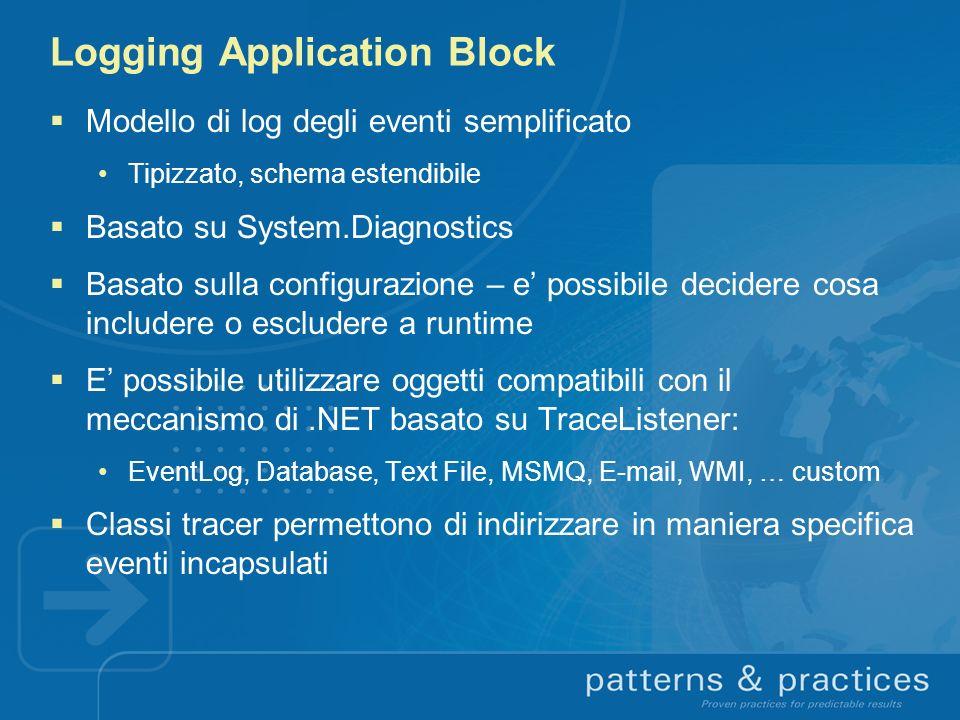 Logging Application Block