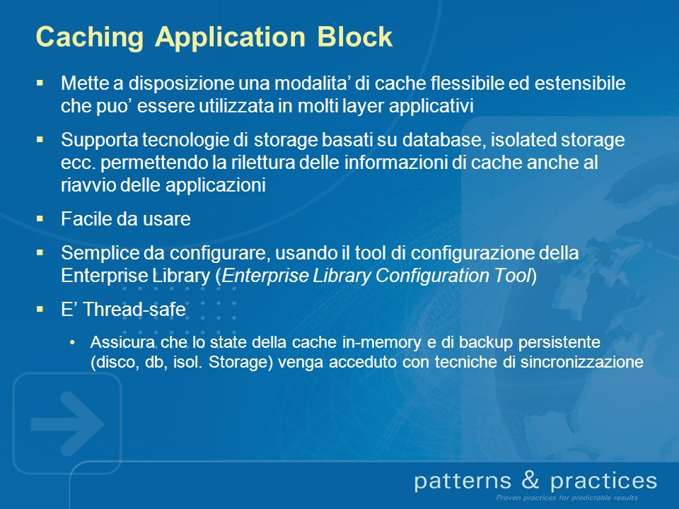 Caching Application Block