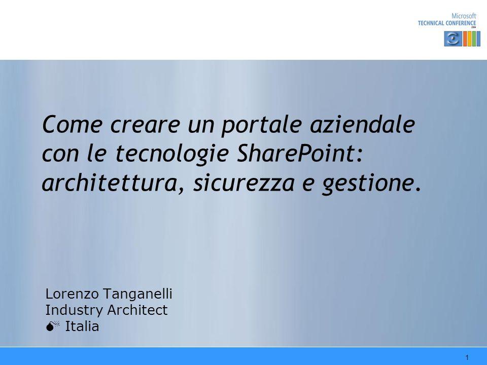 Lorenzo Tanganelli Industry Architect M Italia