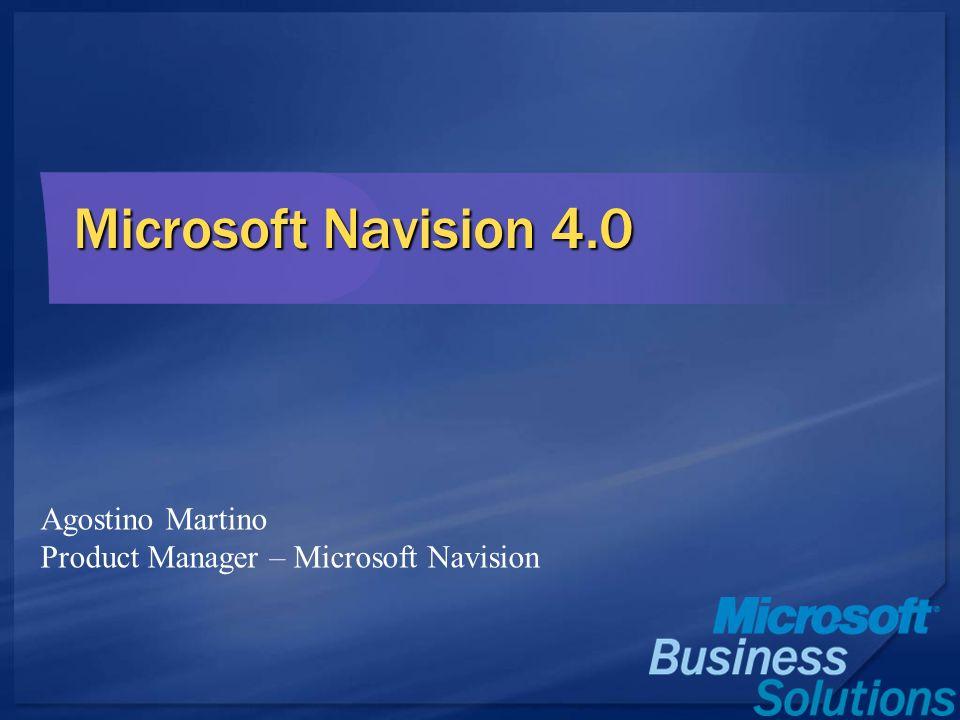 Microsoft Navision 4.0 Agostino Martino