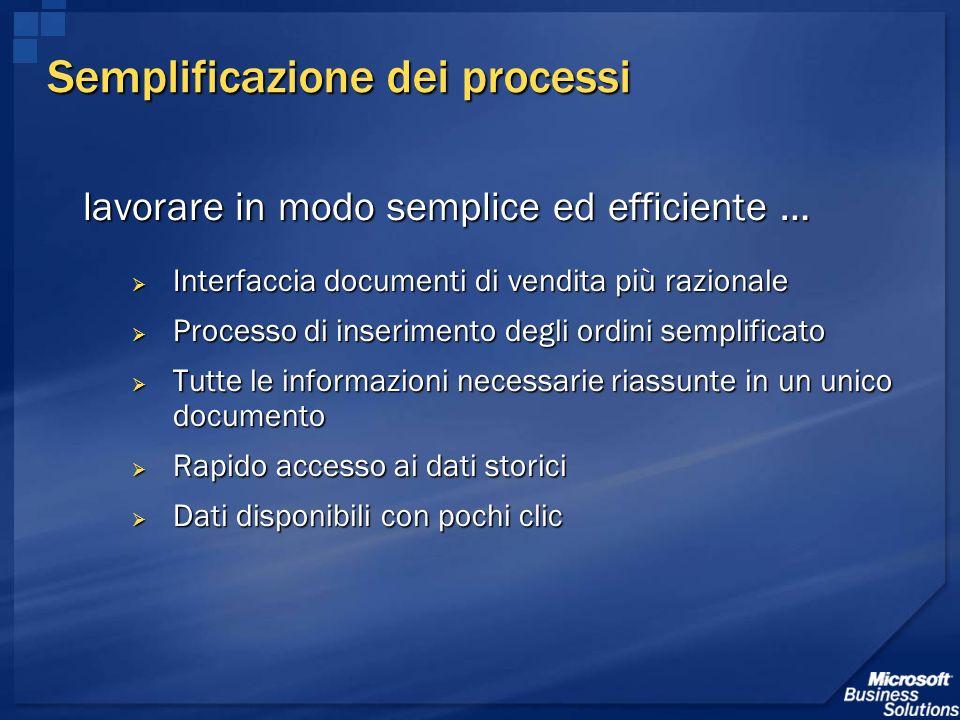 Semplificazione dei processi