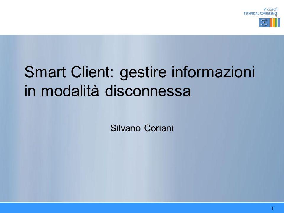 Smart Client: gestire informazioni in modalità disconnessa