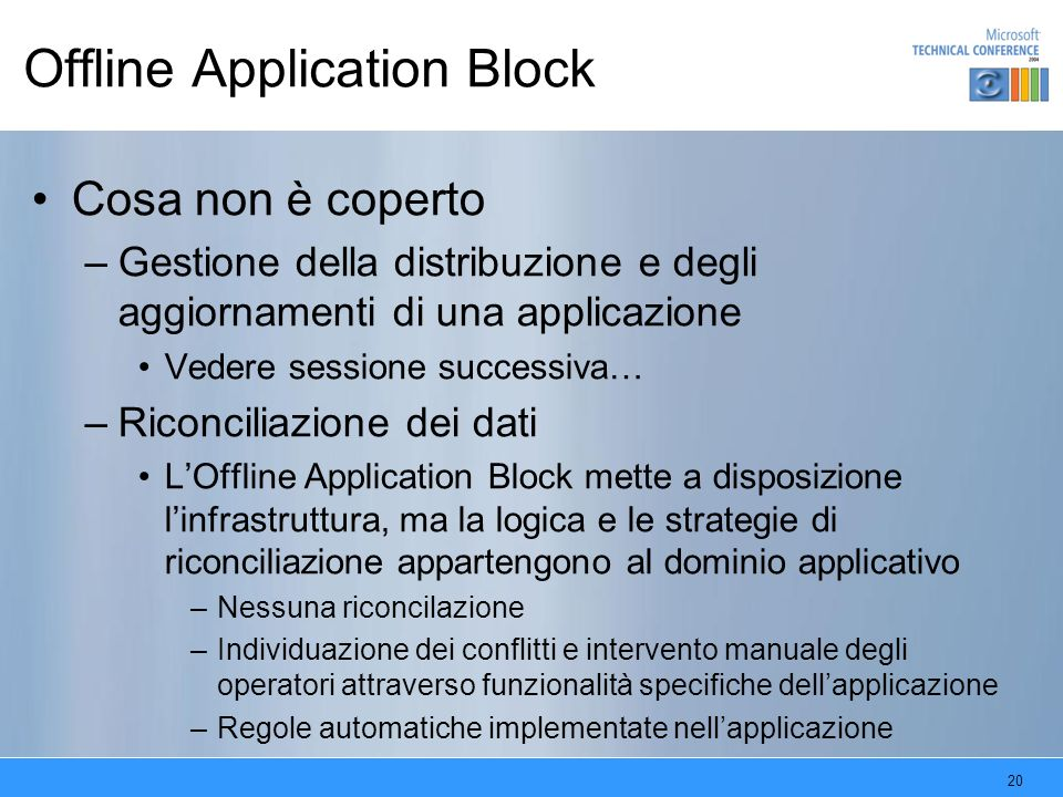 Offline Application Block