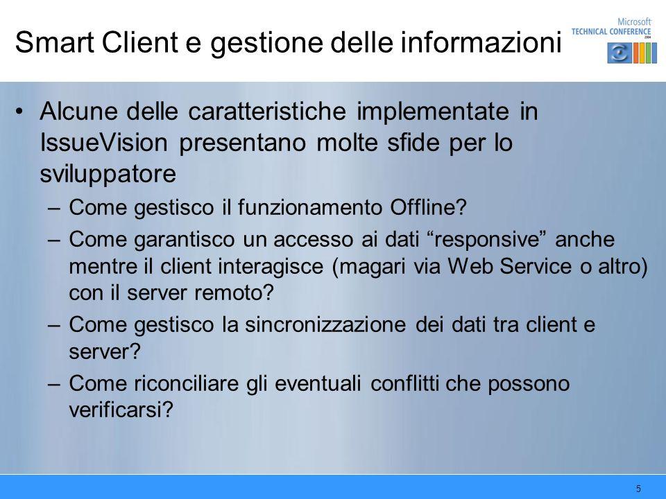 Smart Client e gestione delle informazioni