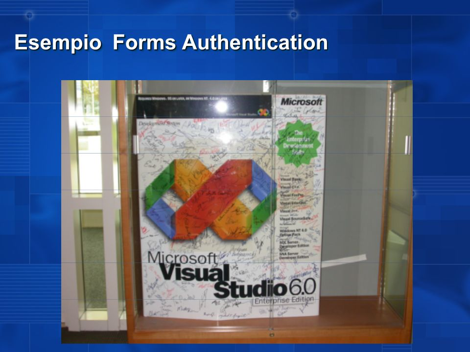 Esempio Forms Authentication