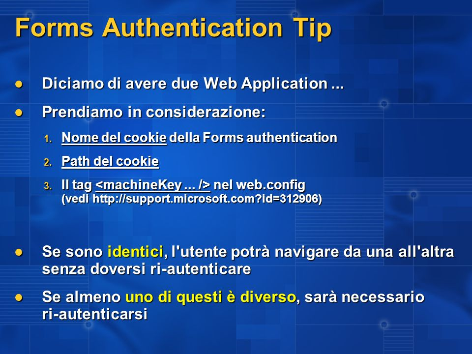 Forms Authentication Tip