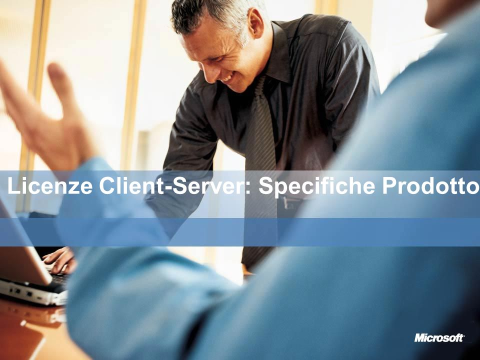 Licenze Client-Server: Specifiche Prodotto