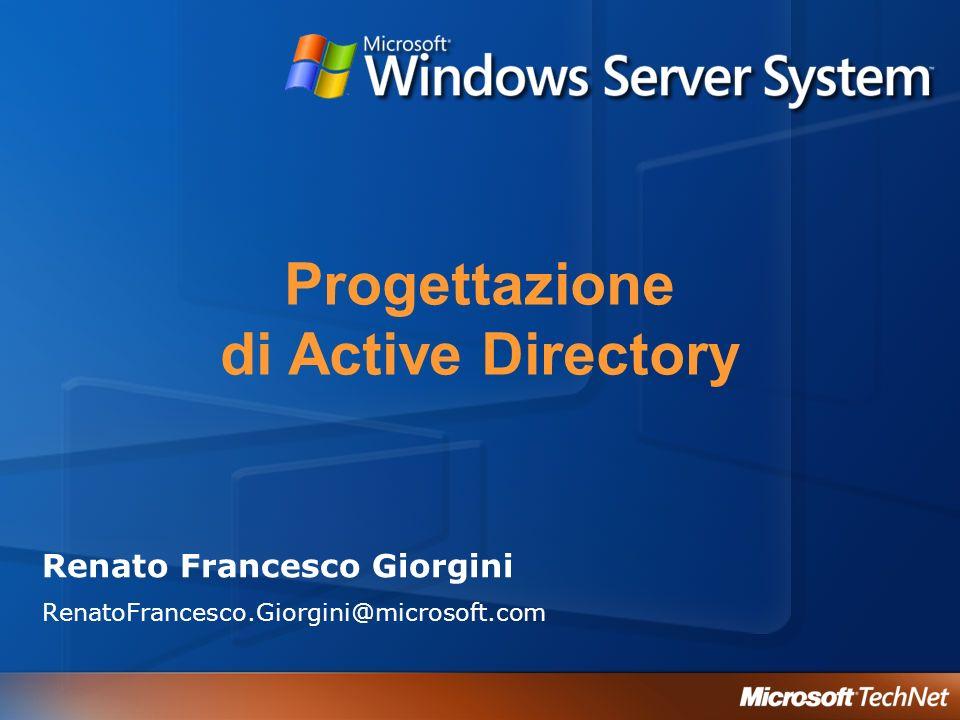 Progettazione di Active Directory