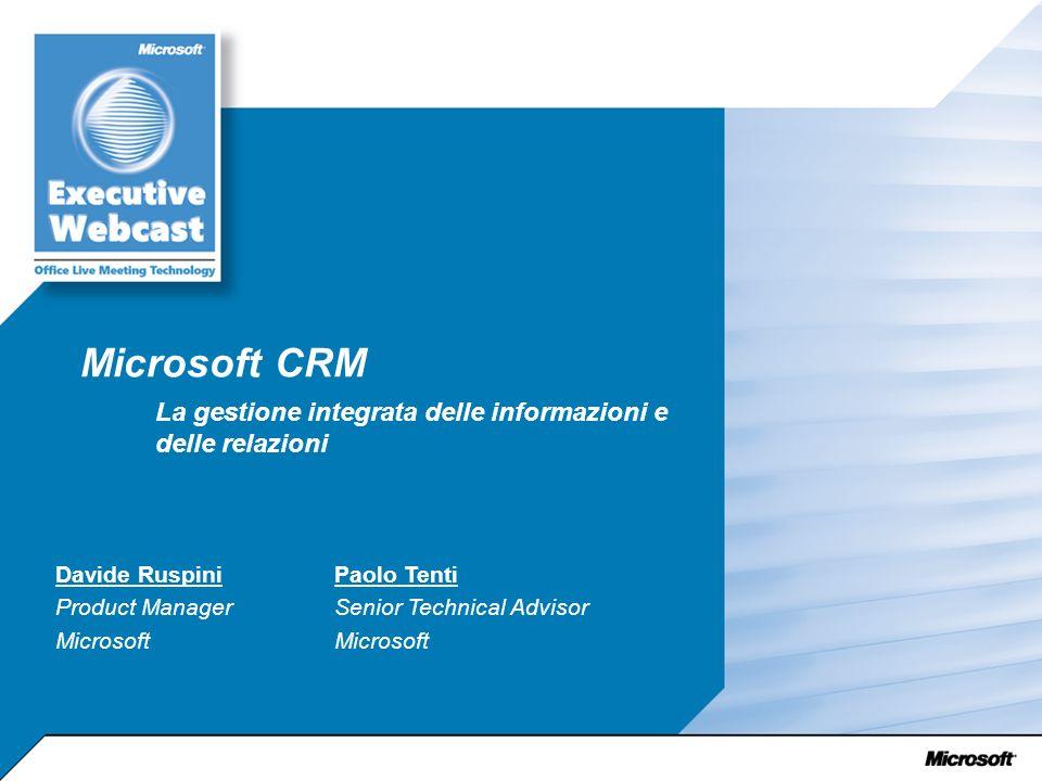 La gestione integrata delle informazioni e delle relazioni