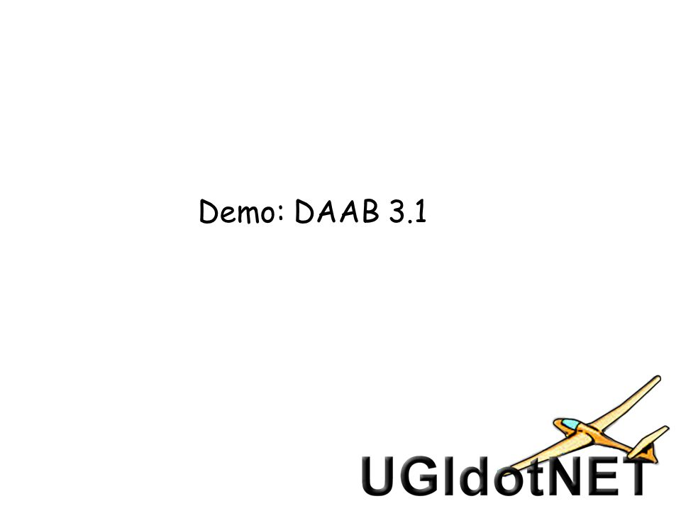 Demo: DAAB 3.1