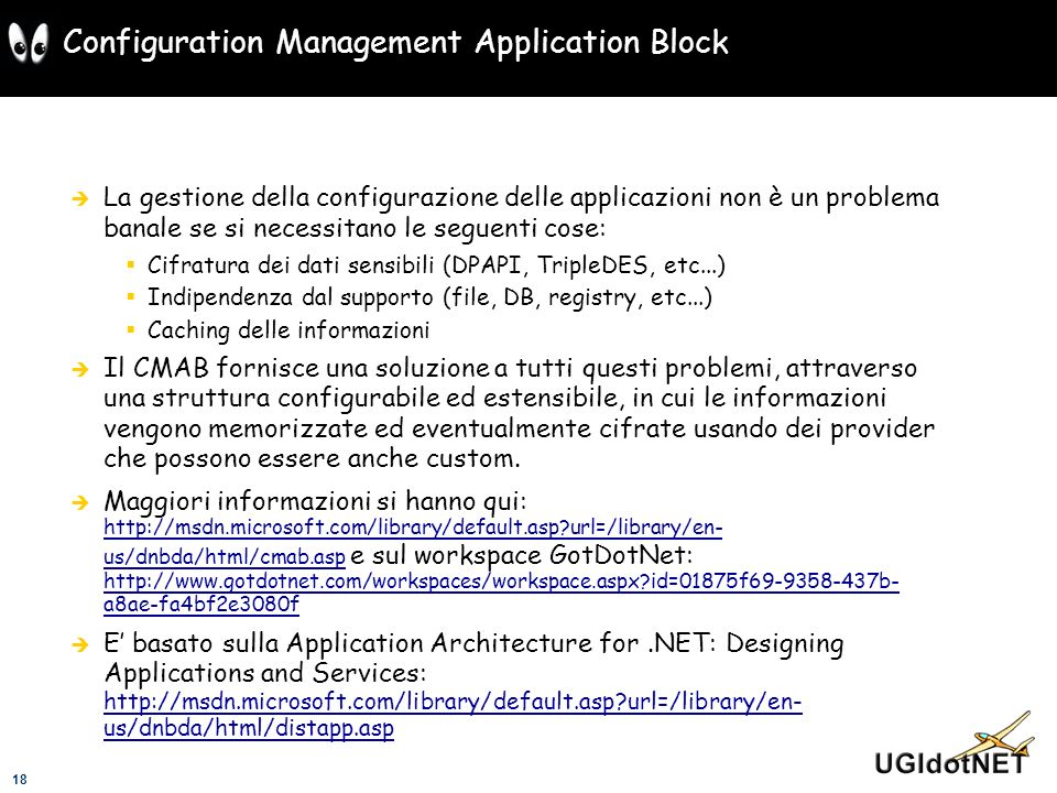 Configuration Management Application Block