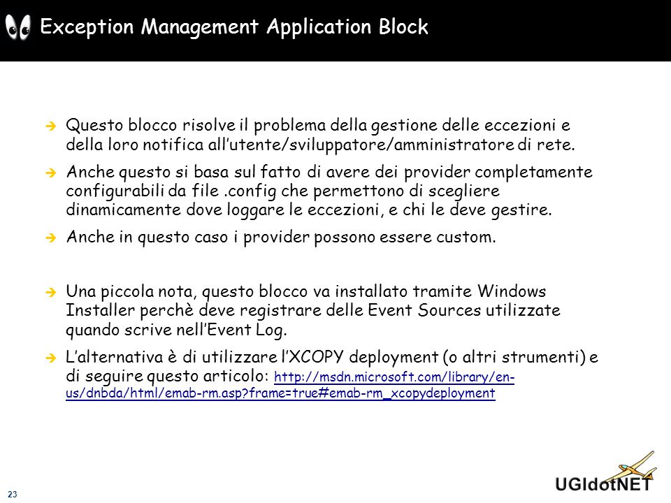 Exception Management Application Block