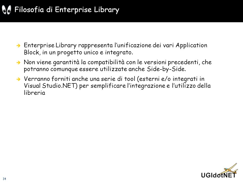 Filosofia di Enterprise Library
