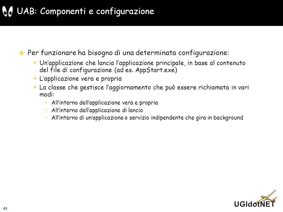 UAB: Componenti e configurazione