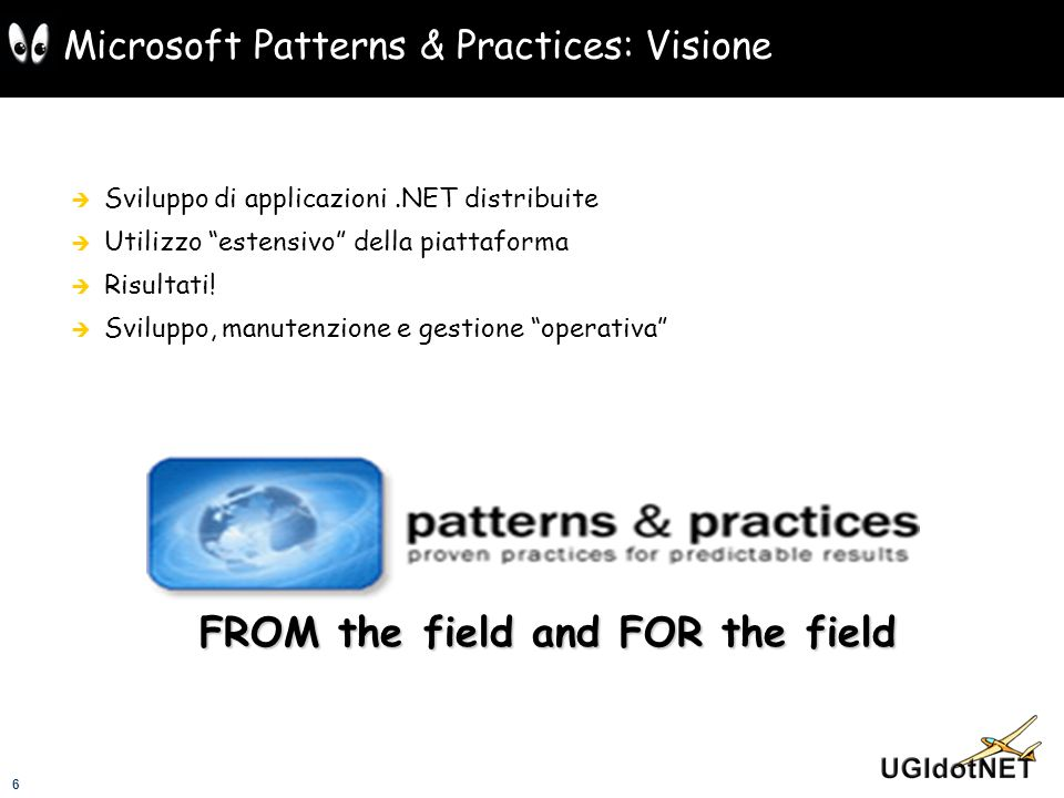 Microsoft Patterns & Practices: Visione