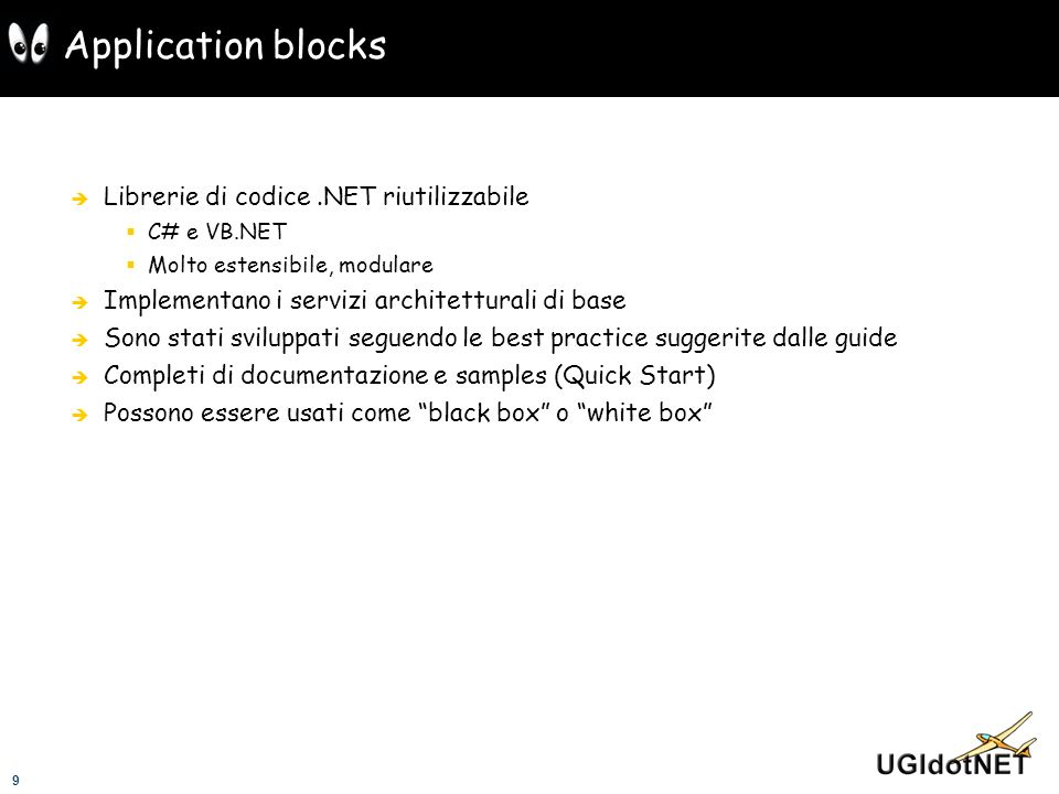 Application blocks Librerie di codice .NET riutilizzabile