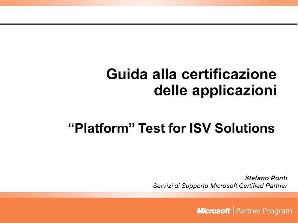 Guida alla certificazione delle applicazioni