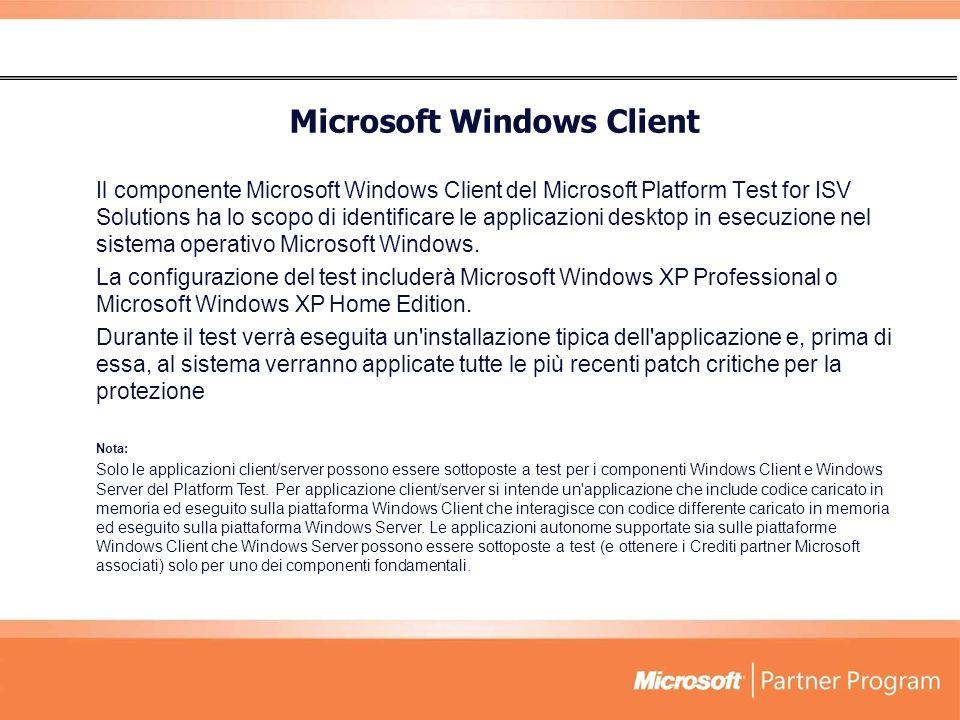 Microsoft Windows Client