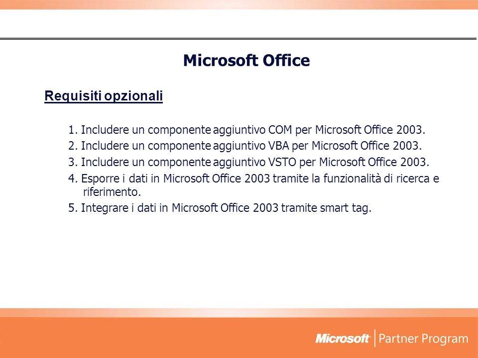 Microsoft Office Requisiti opzionali