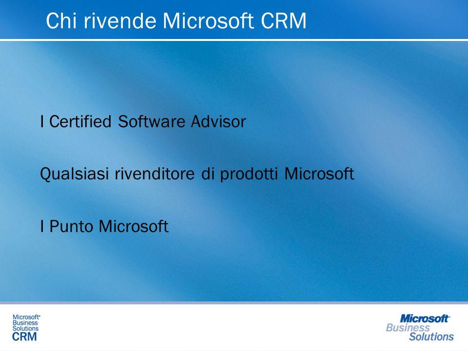 Chi rivende Microsoft CRM