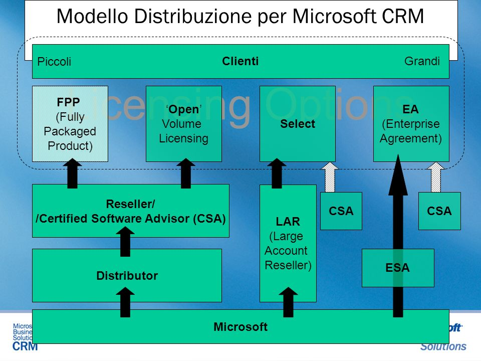 Microsoft Business Solutions CRM - ppt scaricare
