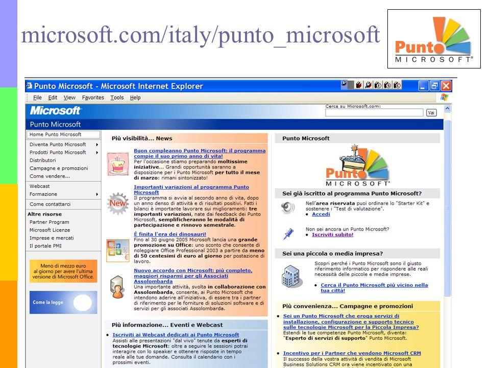 microsoft.com/italy/punto_microsoft