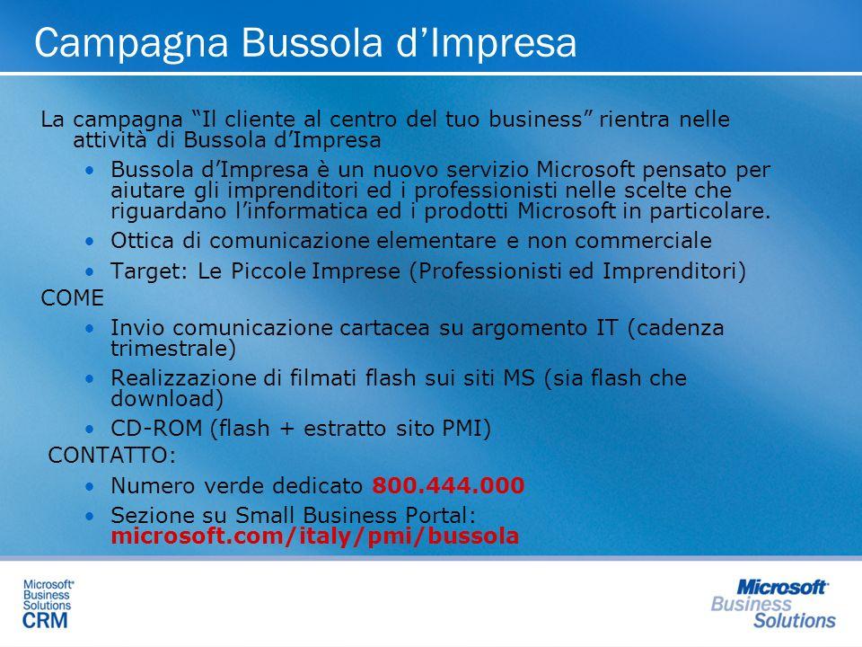 Campagna Bussola d'Impresa