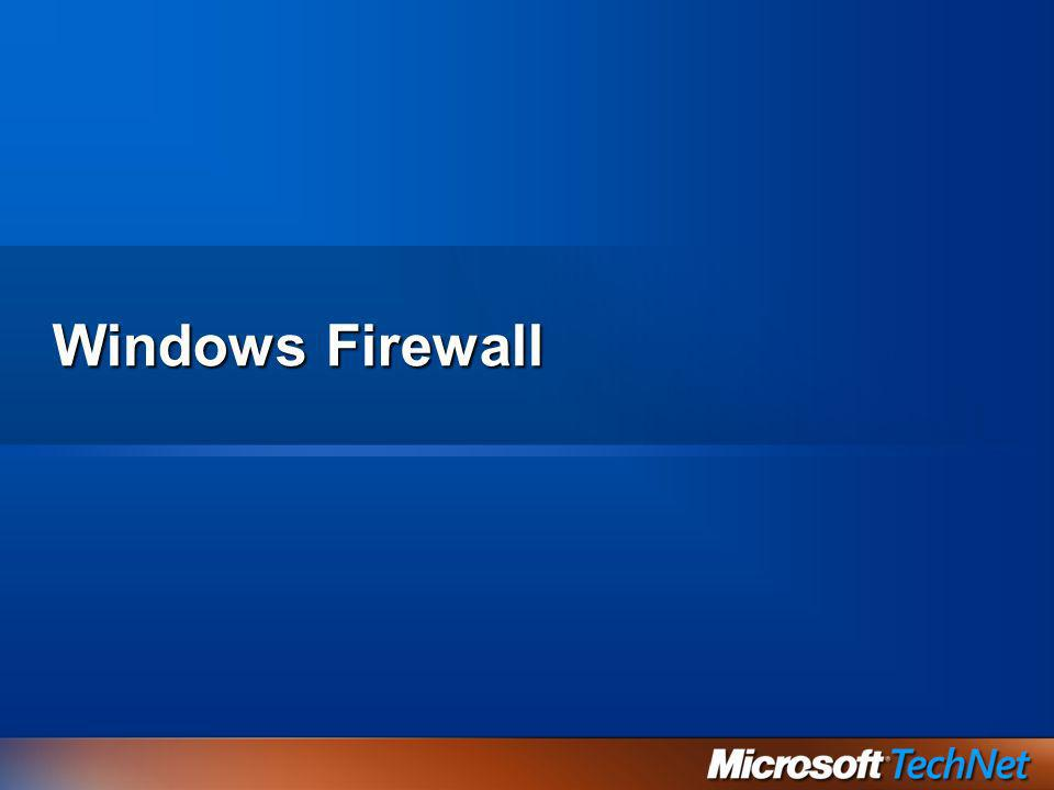 Windows Firewall 3/27/2017 2:27 AM