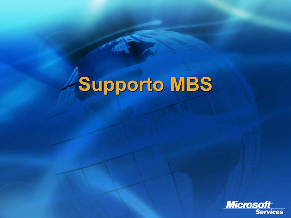 Supporto MBS