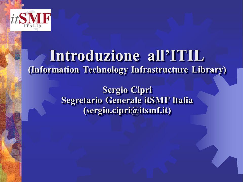 Introduzione all'ITIL