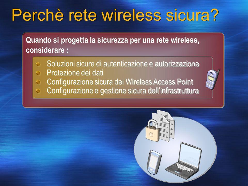 Perchè rete wireless sicura