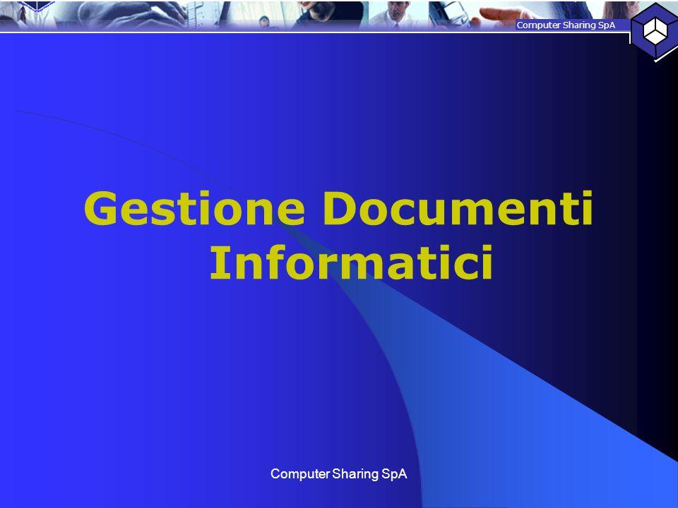 Gestione Documenti Informatici