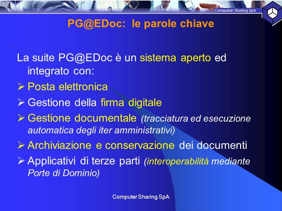 PG@EDoc: le parole chiave