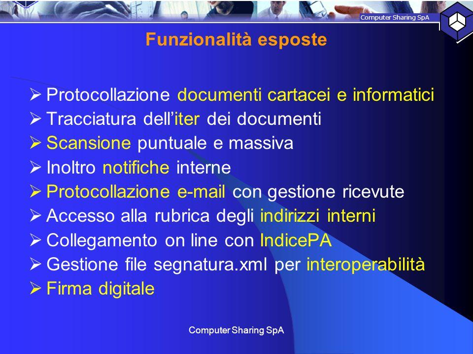 Protocollazione documenti cartacei e informatici