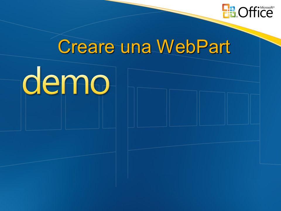 Creare una WebPart