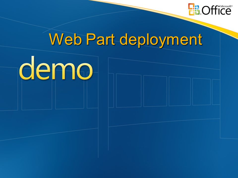Web Part deployment